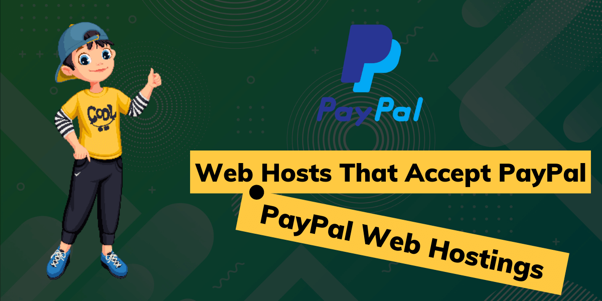 web hosts that accept paypal