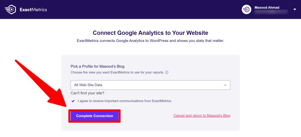 Google Analytics for WordPress by ExactMetrics in 2021