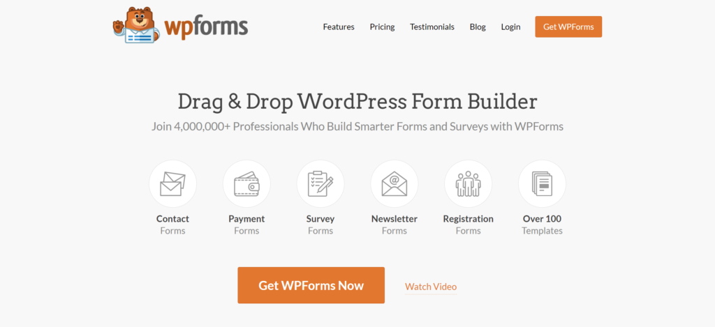 best contact forms to use with Mailchimp