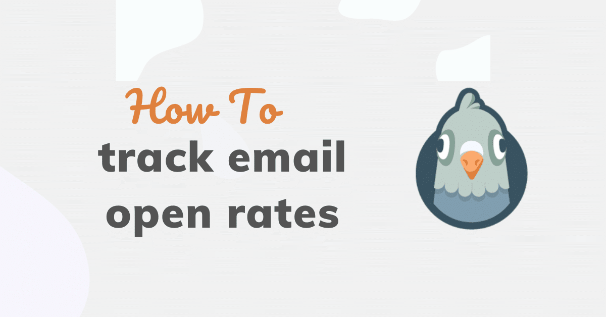 How to track email open rates